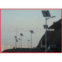 Solar steel lampposts