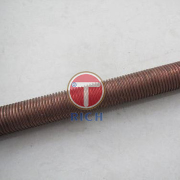 Tabung Sirip Tembaga Rendah Seamless Copper Dingin