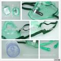 Máscara de respiração de oxigênio cirúrgica descartável médica