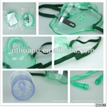 Masque respiratoire respiratoire jetable médical d'oxygène