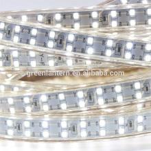 Neue Super helle 220 V zweireihig 2835 flexible led-streifen für indoor und ourdoor verwendet