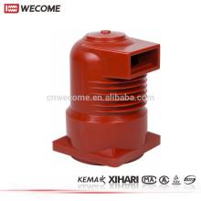 KEMA testificó el aislador de la ayuda de la barra de distribución de la resina de epoxy 10KV del dispositivo de distribución del voltaje medio