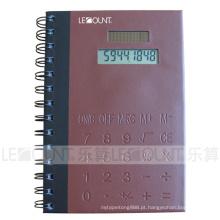 PVC Covers Notebook Calculadora com Memo e caneta esferográfica (LC810B)