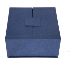 China Supplier for Magnetic Closure Gift Box Double doors opening hard paper box export to France Exporter
