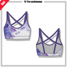OEM Women Push up Sexy Sports Bra