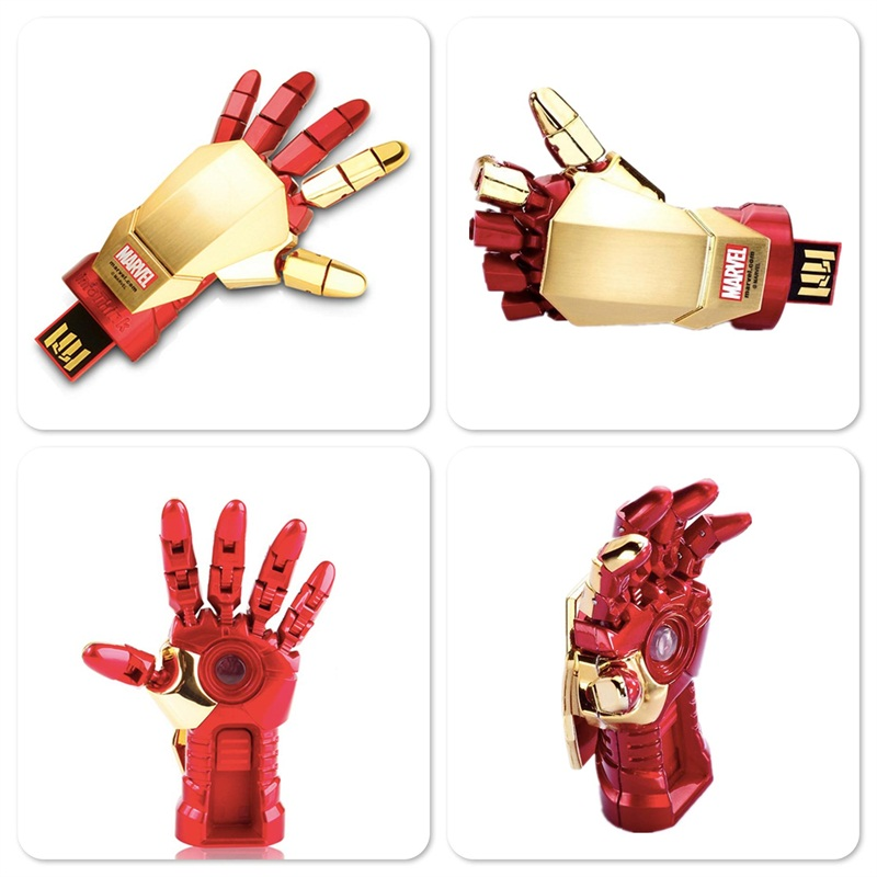 Iron Man Hand Palm-LED Usb