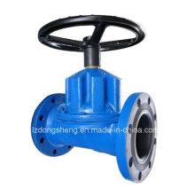 Hand Wheel Operator Rubber Lined Diaphragm Valve