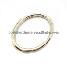Fashion High Quality Metal Oval Split Ring