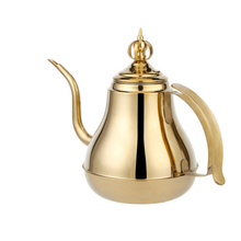 Alta Qualidade 1.5L / 2.0L Ouro Aço Inoxidável Chá De Água / Chaleira Hotal / Gotejamento Chaleira De Café
