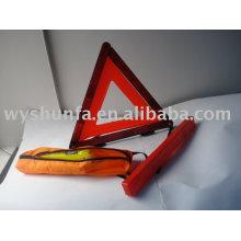 Комплект дорожной безопасности / комплект треугольных предупреждений, защитный пакет