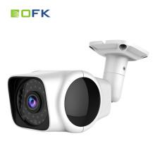 720p IP WIFI 2.1mm wide angle lente apoio TF cartão bala câmera de cctv