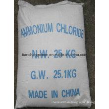 Cloruro de amonio de grado industrial 99,5%