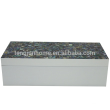 new design seashell storage box made of Newzealand paua shell