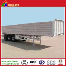 Remolque de pared lateral Cimc para el transporte de carga