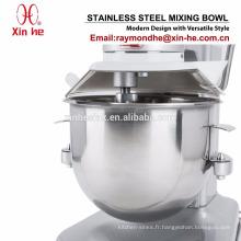 Composant de machine de nourriture de boulangerie de cuisine, bol de mélange commercial d'acier inoxydable pour 10 litres de QT mélangeur de globe de Vollrath Hobart