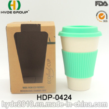 Coupe en fibre de bambou non inflammable en gros BPA (HDP-0424)