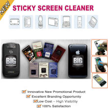 Magic Sticky Phone Screen Cleaner Stick On Computer , Lcd Tv