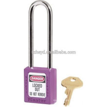 CE certificated long shackle safety padlock