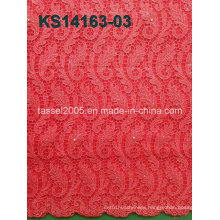 2016 New Wholesale African Cord Lace Fabric, African Cord Lace for Party