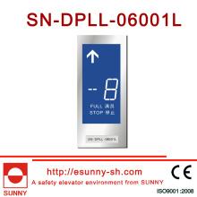 7 tela LCD para elevador (SN-DPLL-06001L)