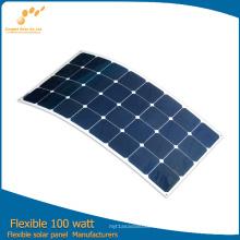 2016 горячая 100 Вт гибкие солнечные панели из Китая фабрики непосредственно