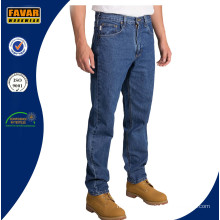 Men Tapered Leg Relaxed Fit Jeans