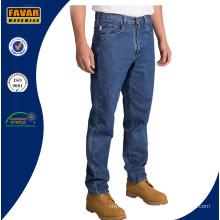 Мужчины конические ноги расслабленной подходят джинсы
