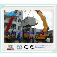 Guindastes telescópicos hidráulicos do caminhão do crescimento amplamente usados