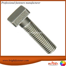 Special Price for Suppliers of Square Bolts, Square Head Bolts with high quality DIN478 Square Head Bolts export to France Metropolitan Importers