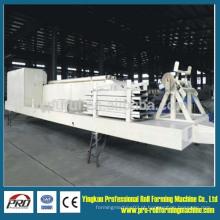 914-750 Máquina de laminação de rolo de construção de folhas de cor grande