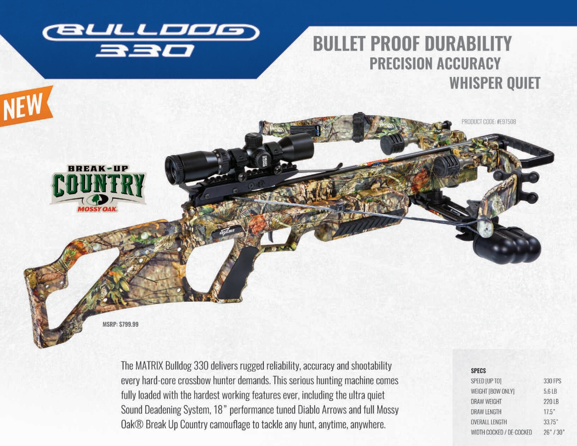 New Bulldog Crossbow