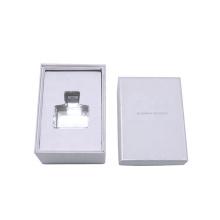 Handmade Custom Logo Rigid Paper Luxury Cosmetic Gift Packaging Double layer rotary type Perfume Box