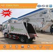 Isuzu 100P recheio compactador caminhão de lixo 4-5cbm