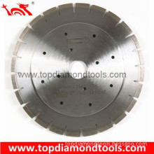 Horizontal Cutting Diamond Saw Blades for Granite and Marble