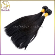 Onda reta de seda 100% virgem Europeu cabelo Remy