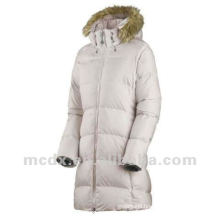 Brand fashion popular women long down jacket