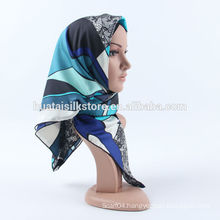 100 silk scarf 2014 new design abaya selling hijab