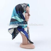 100 шелковый шарф 2014 новый дизайн абая продажа хиджаба