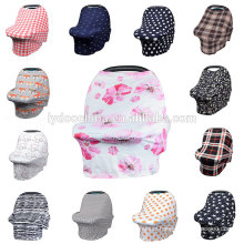 Stretchy 4-in-1custom baby Cotton Car seat cover Canopy