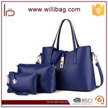 Высокое качество мода дешевые 3шт женщины сумочка комплект
