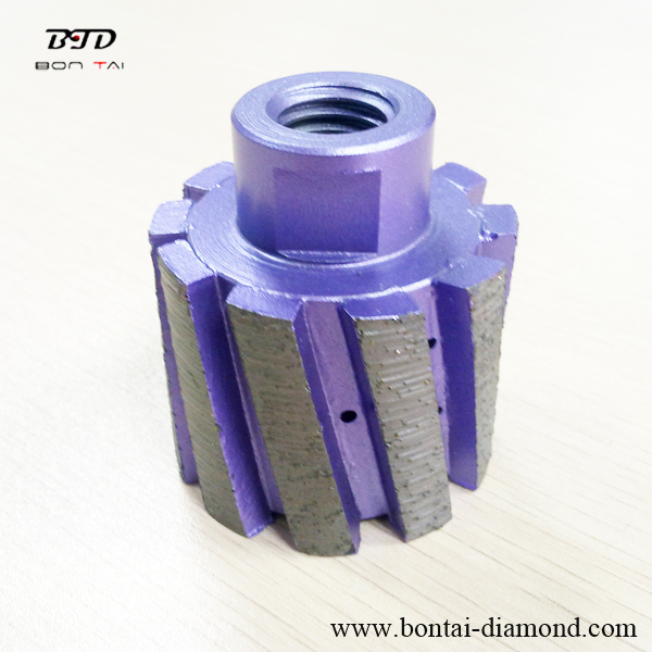 Segmented Zero Tolerance Wheel for granite grinding