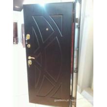 2014 Novo design e porta blindada de madeira de aço de alta qualidade (JC-A069)