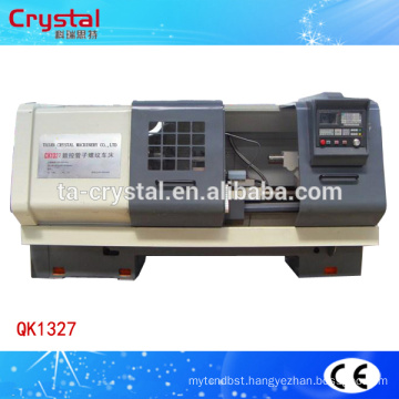 electrical oil pipe threading lathe machine tool for sale QK1327