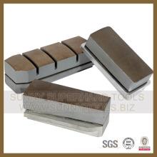 Super qualidade diamante abrasivo Fickert para polimento (L140X15mm)