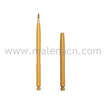 Retractable Lip Makeup Brush with Synthetic Hair