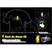 [Супер дело]оптом 2009 мода горячие продажа футболка А18,El футболки,LED футболки