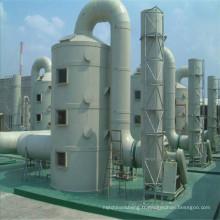 Tour de purification de PRF, tour de désodorisation pour le processus de désulfuration des gaz de combustion