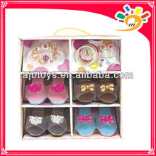 Toys 2013 new product/plastic toy princess girls party favor cosplay decoration shoes set