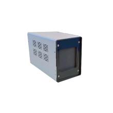 Paseo a través de detectores de puerta de termómetro de detección de metales