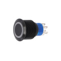 Tukar Hidup Hitam Long Life Waterproof 19mm Switch Button